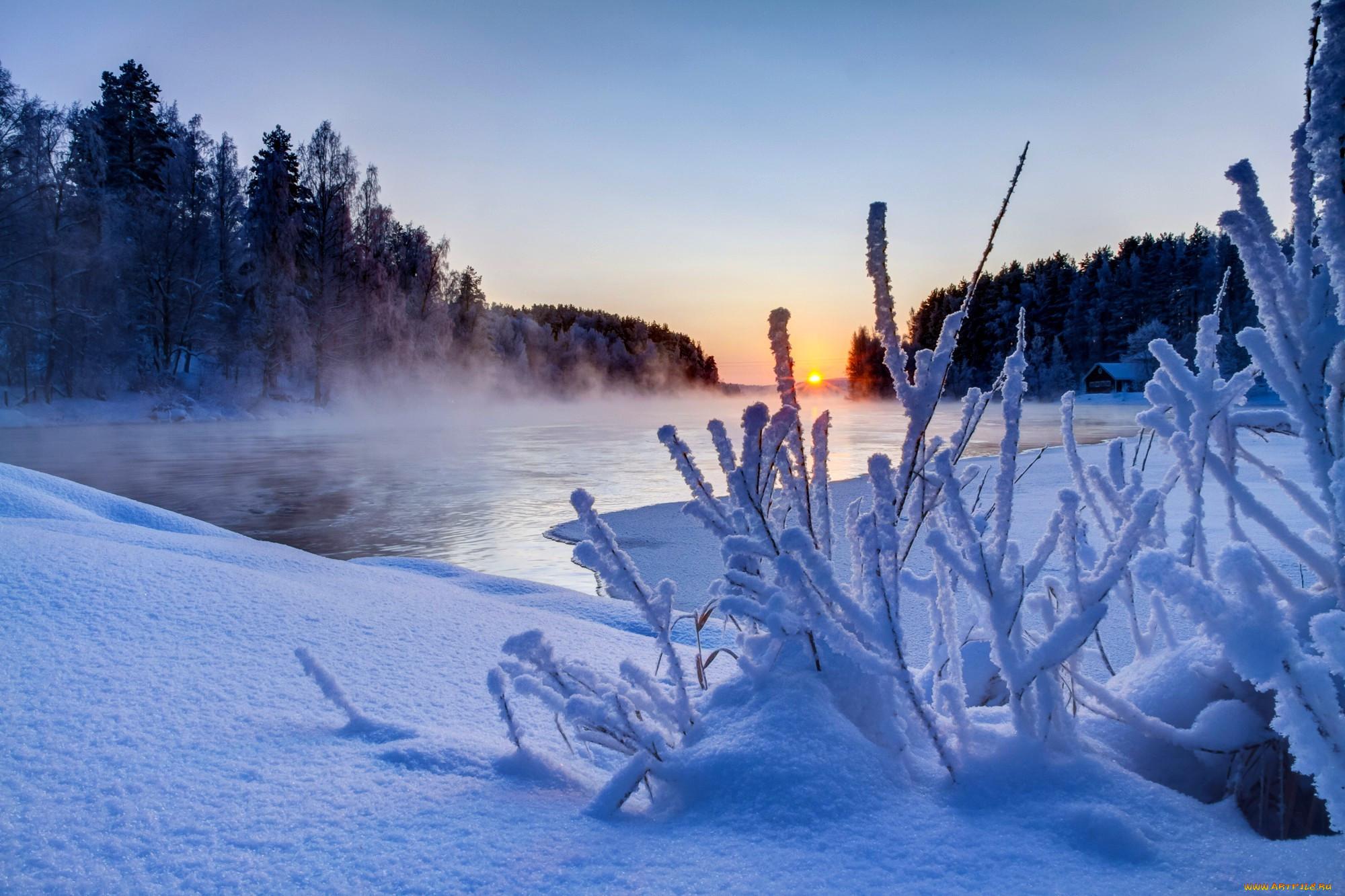 кого фотографии о красоте зимы большая